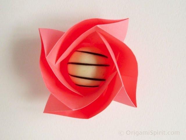 Cara Membuat Origami Mawar Dan Naga Yang Mudah Bagi Pemula