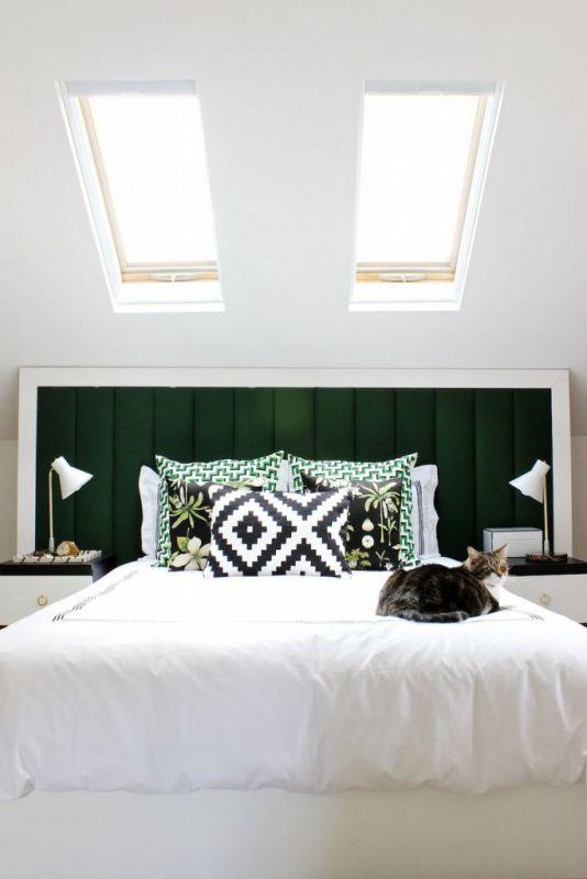 desain kamar tidur mewah dan glamor dengan atap kaca