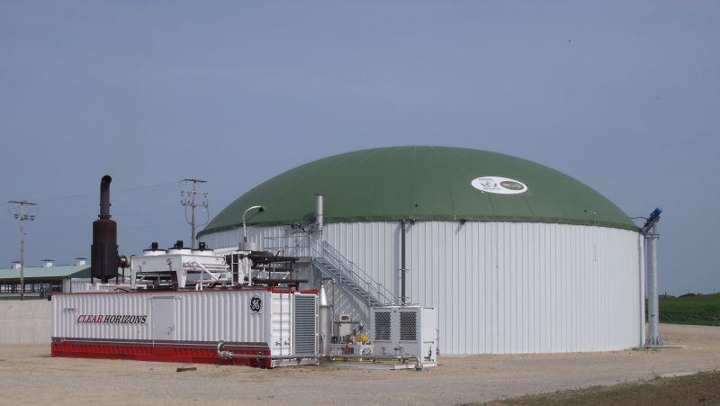 Biogas dari Kotoran Sapi