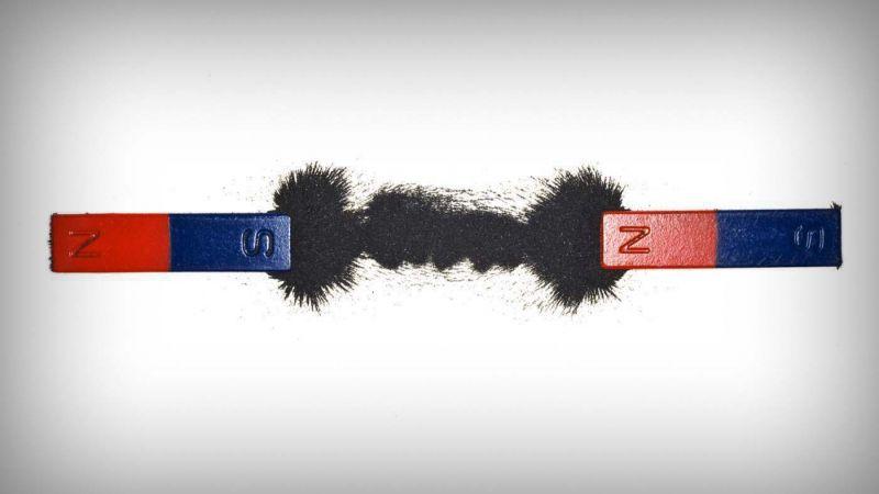 ciri-ciri magnet kutub utara dan kutub selatan