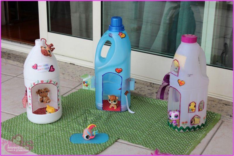 Mainan dari Botol Bekas - Rumah Boneka