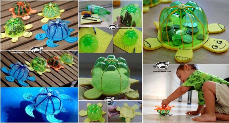 23 Mainan Dari Botol Bekas Yang Mudah Dibuat Beserta Gambarnya