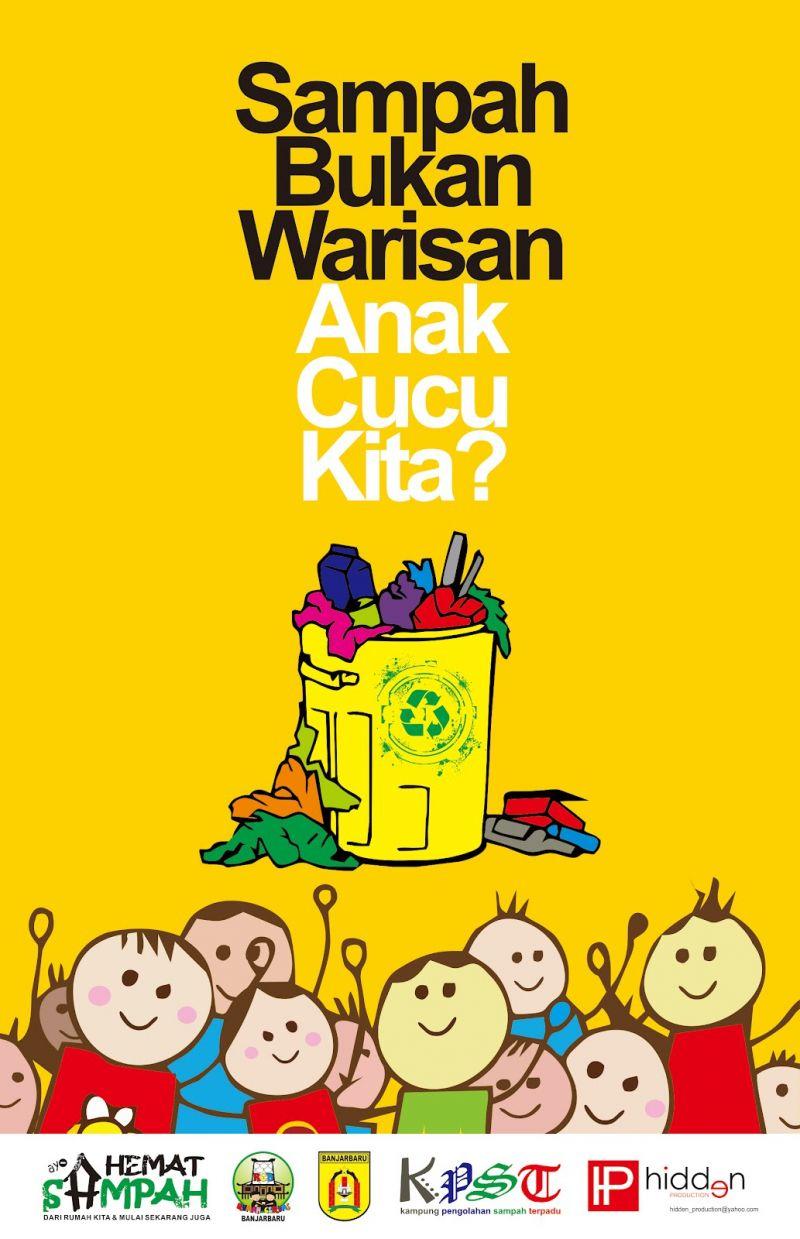 25 Contoh Poster Pendidikan Lingkungan Kegiatan Dan Lain
