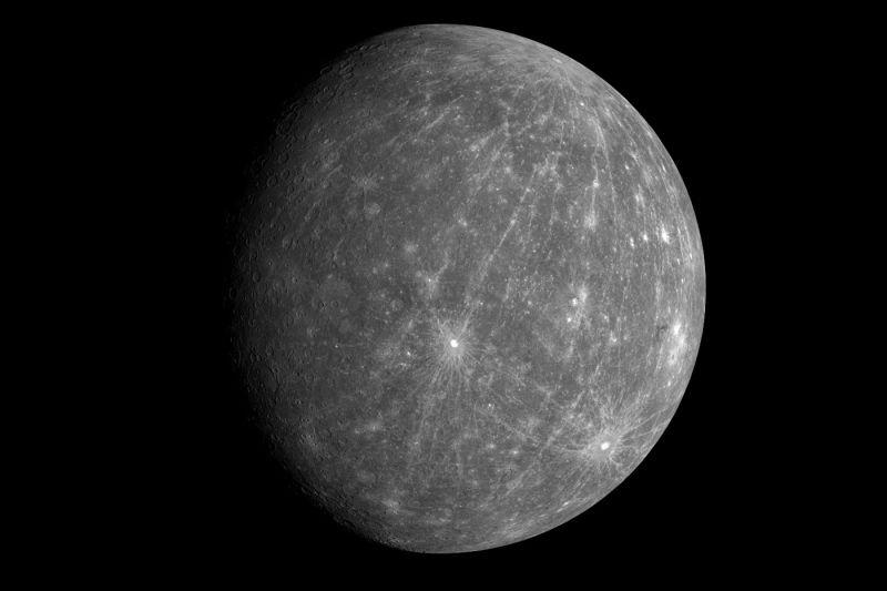 ciri-ciri planet merkurius