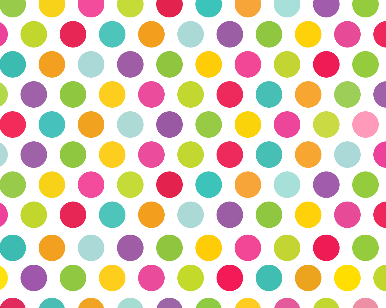 Background lucu Polkadot warna warni
