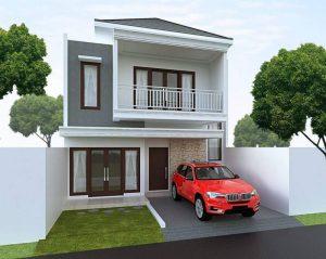 19 desain rumah minimalis 2 lantai kekinian / lengkap