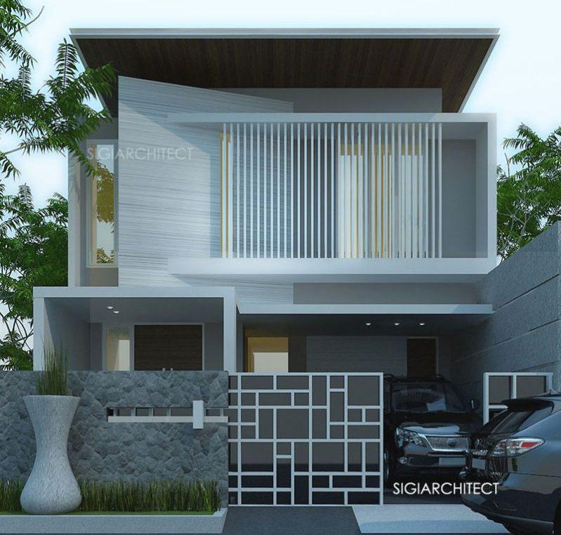 rumah minimalis 2 lantai tipe 6 x 12