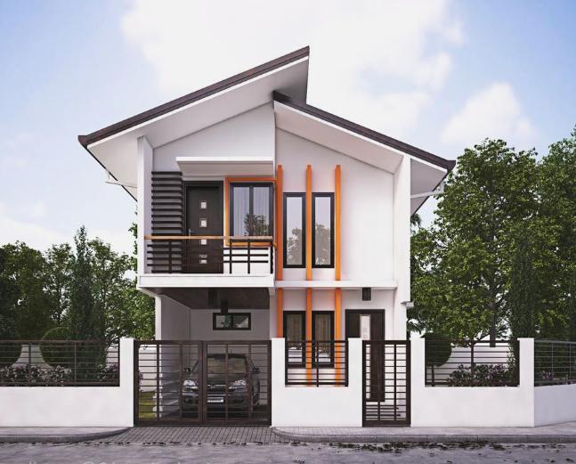 19 Desain Rumah Minimalis 2 Lantai Kekinian Lengkap Beserta Contoh