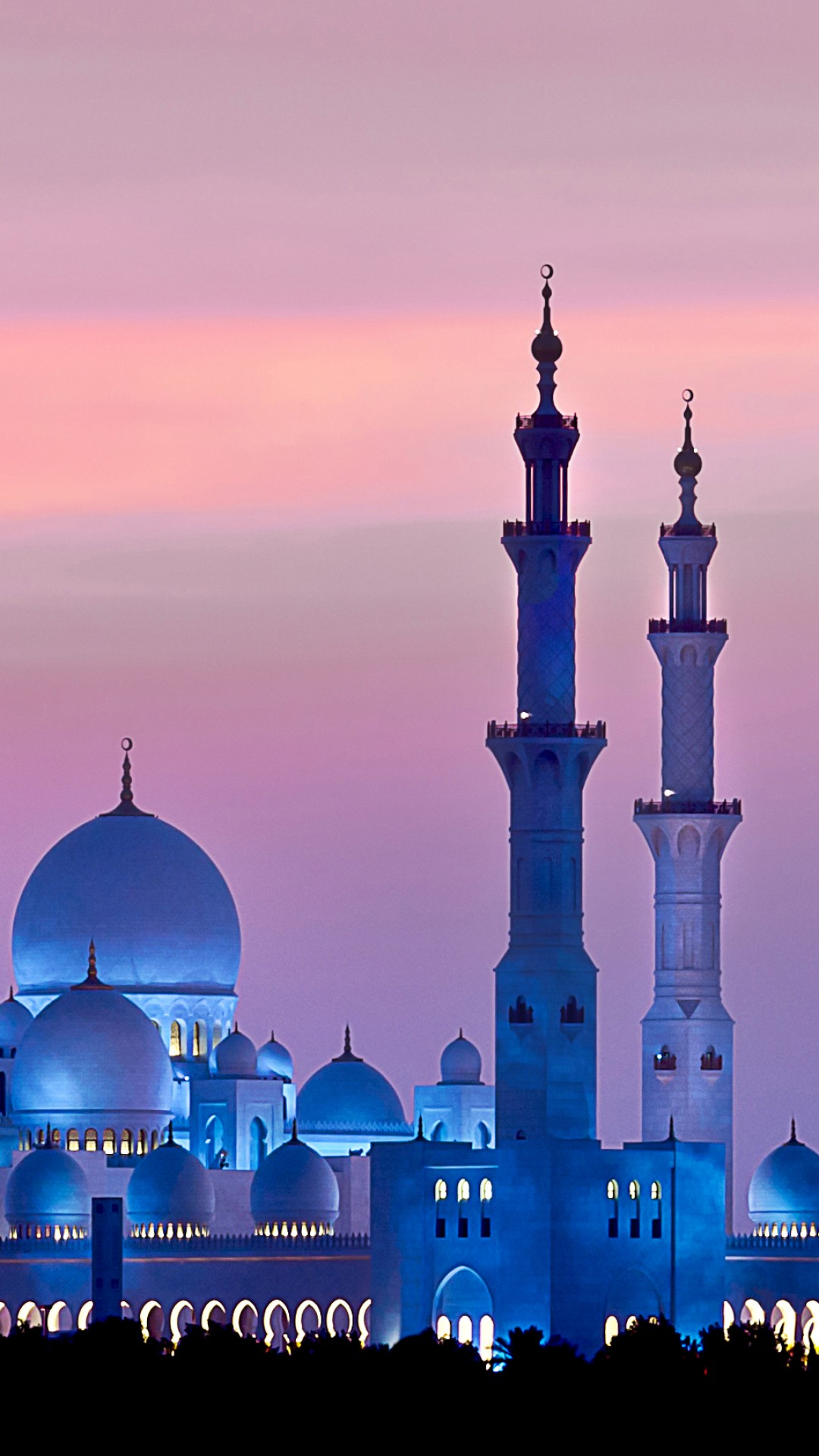 sheikh zayed mosque 1080x1920 abu dhabi sky sunset 4k 16649
