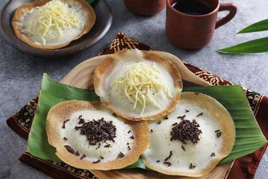 Serabi Makanan Tradisional Khas Indonesia
