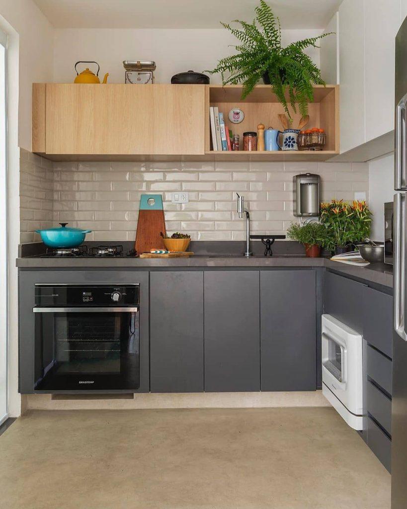 dapur dengan kompor tanam