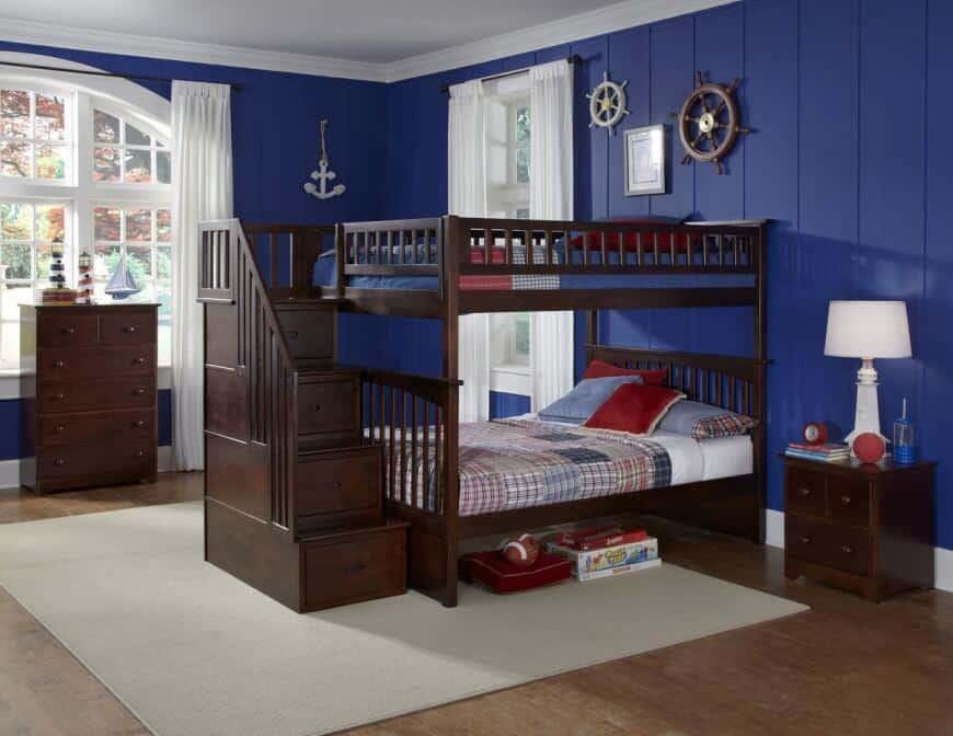 4. Tempat Tidur Tingkat untuk Pelaut Kecil`